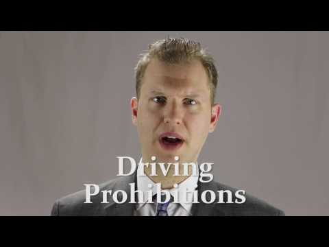 Dispute Driving Prohibition with a Lawyer and Get your License Back