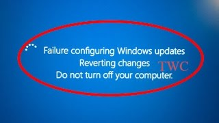 Video How to fix Failure Configuring Windows Updates Reverting changes Do not turn off your computer download MP3, 3GP, MP4, WEBM, AVI, FLV Oktober 2018