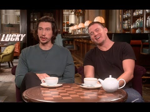 Adam Driver and Channing Tatum talk playing brothers