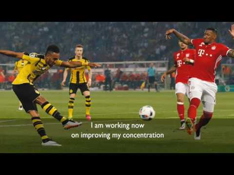 Pierre-Emerick Aubameyang interview for 2016 BBC African Footballer of the Year award