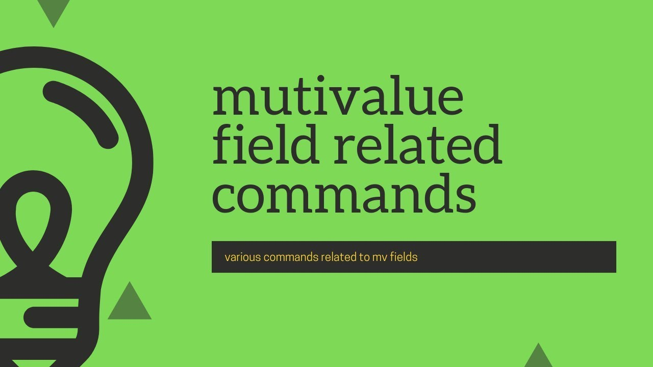 Splunk Commands : Detail discussion on commands related to multivalue fields