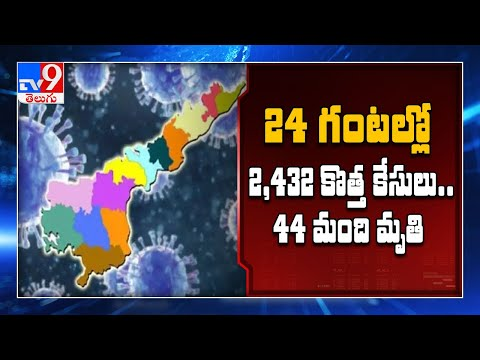 Andhra Pradesh records new single day high of 2432 cases, 44 deaths - TV9 from YouTube · Duration:  4 minutes 1 seconds