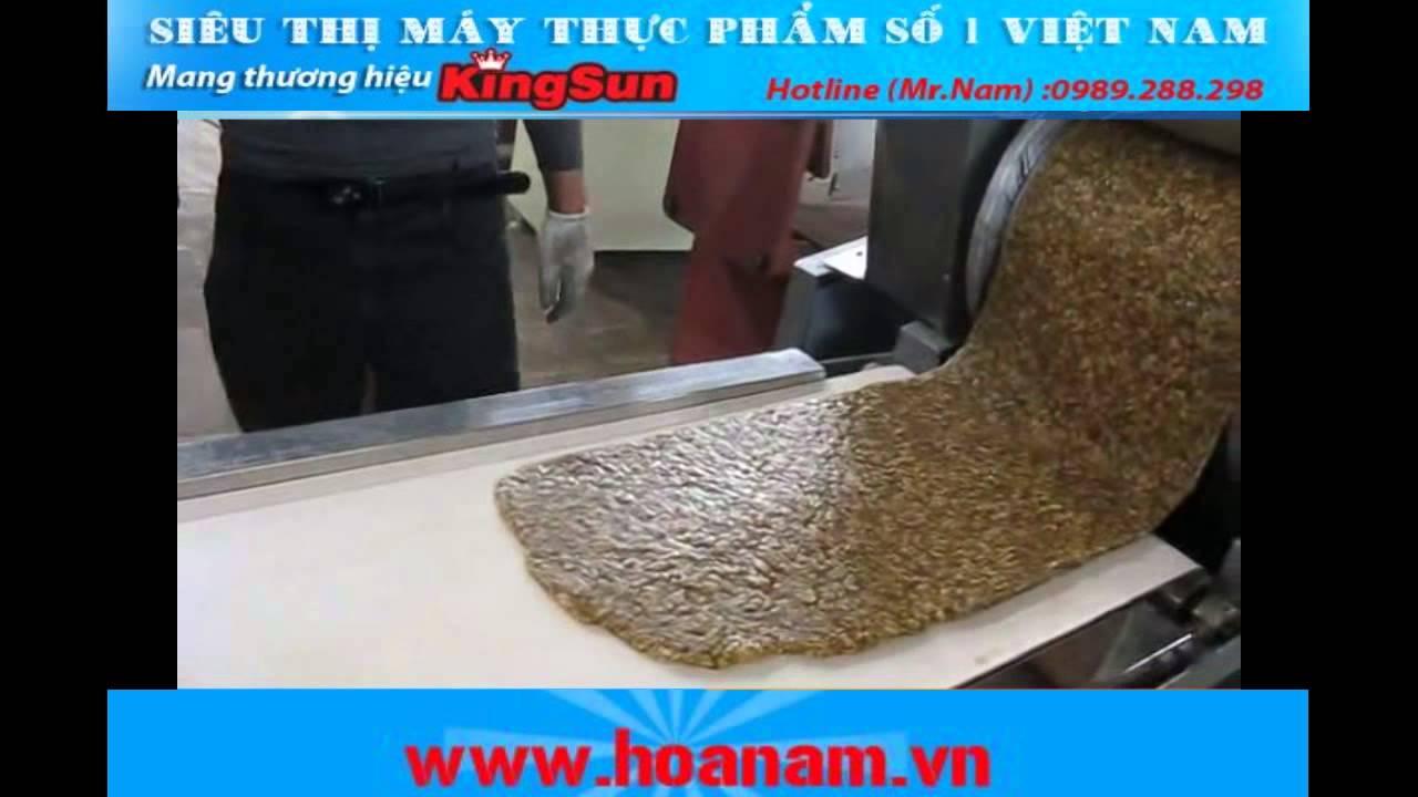 Dây chuyền sản xuất bánh kẹo – Công ty cổ phần XNK Hoa Nam – Hoanam.vn