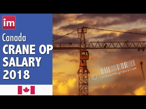 Crane Operator Salary In Canada (2018) - Wages In Canada