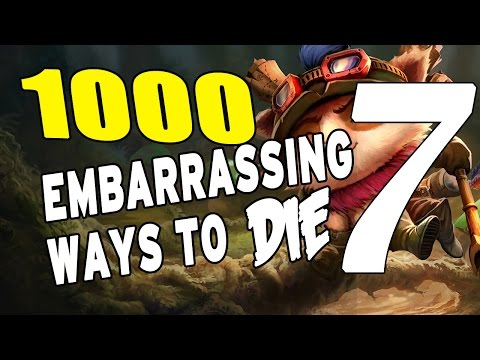 Most Embarrassing Ways to DIE in League #7