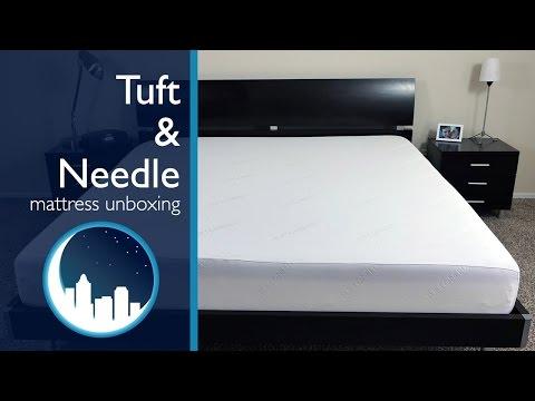 Tuft & Needle Mattress Unboxing