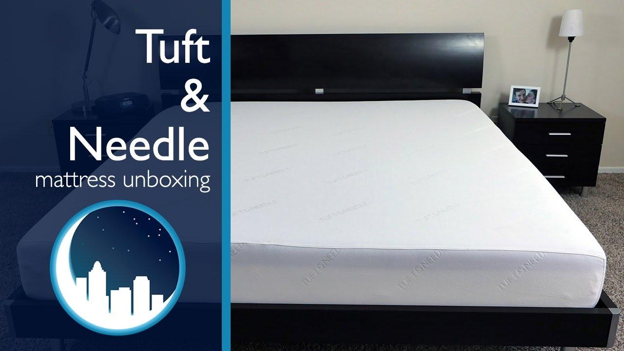 Tuft Needle Mattress Unboxing Youtube