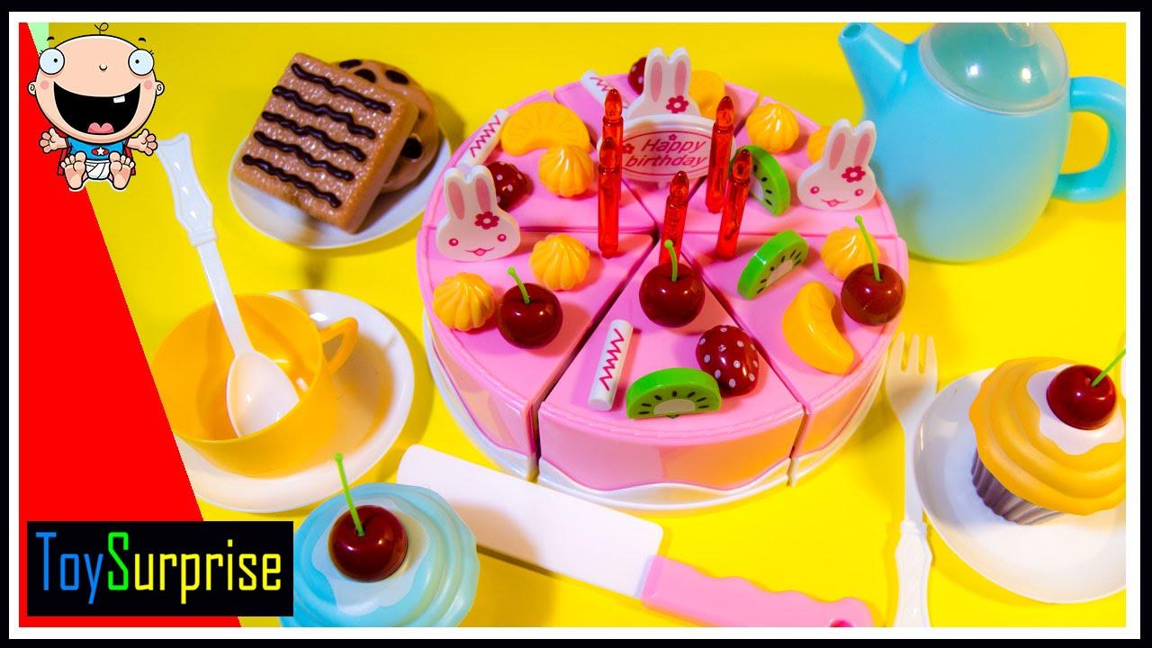 Pasteles y Tarta de juguete Juguetes de velcro para
