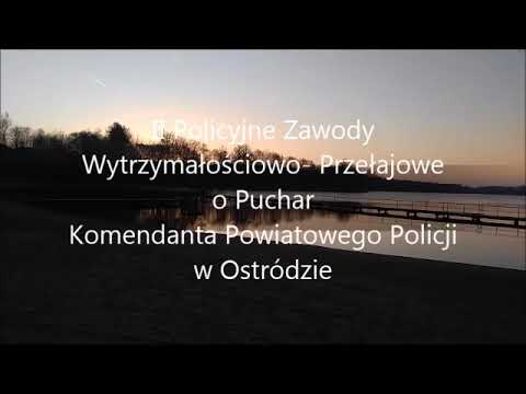 Zawody w bieganiu - Policja KPP Ostróda