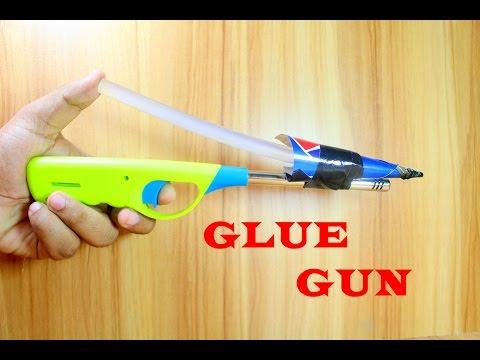 How to make a Hot Glue Gun at home   Very Simple Hot Glue Gun