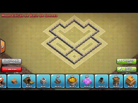 layout guerra e defesa cv 4 town hall wars cv 4 - Layout Cv 4 Guerra