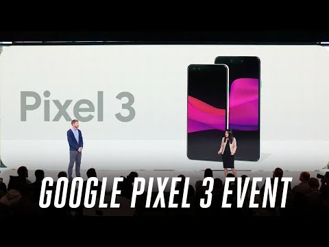 Google Pixel 3 event in 12 minutes