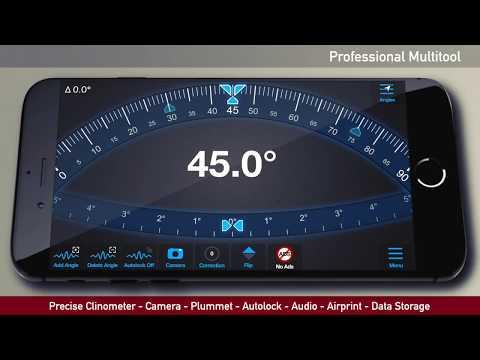iLevel - Protractor & Level - YouTube