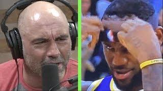 "Joe Rogan on Lebron James' Hair Mishap ""Shave Your Head!"""