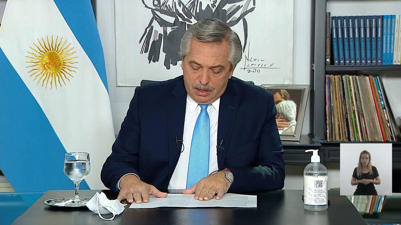 EN VIVO | Coronavirus COVID 19 - Anuncio de nuevas medidas AMBA del presidente Alberto Fernández