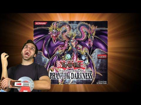 Insane YuGiOh Phantom DARKNESS Booster Box Opening! OH BABY!!