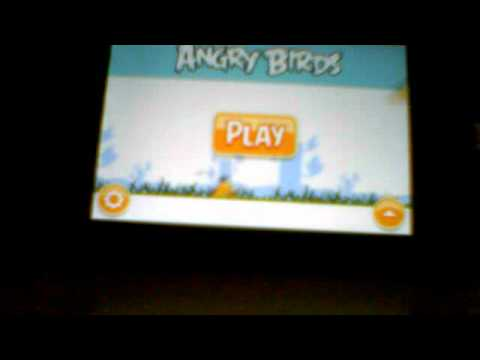 angry birds on Samsung Galaxy Spica GT-i5700