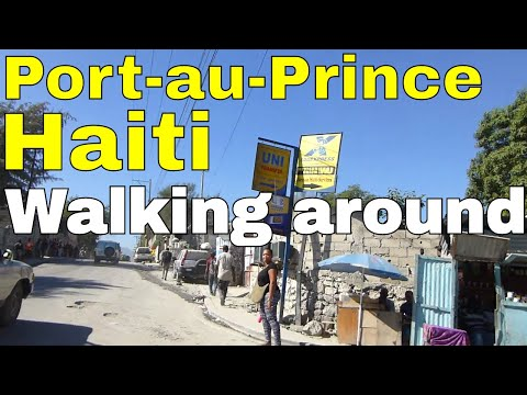 Port of Prince, Haiti