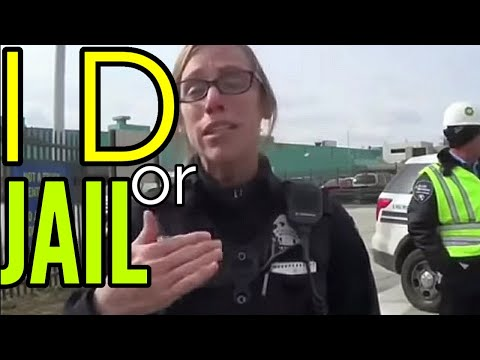 Cops want id and make up laws but get owned instead man knows his rights first amendment audit fail