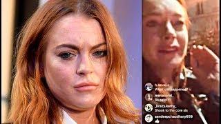 El Extraño Comportamiento De Lindsay Lohan