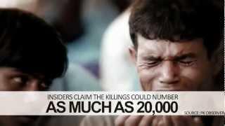 "BREAKING NEWS ""Mass Genocide in Burma 2012"" [BBC Al-Jazeera]"