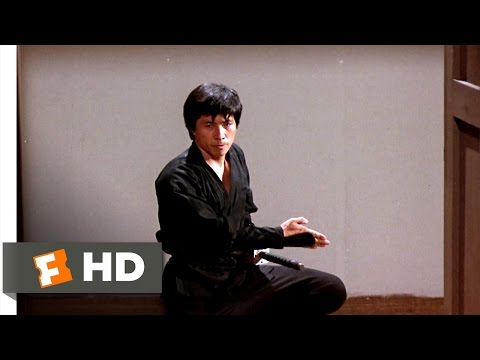 Enter the Ninja (1981) - A Ninja Demo Scene (9/13) | Movieclips