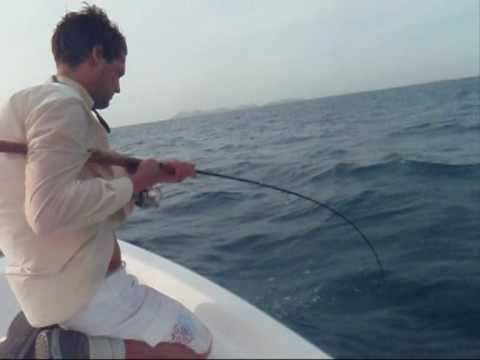 Fishing For Horse-Eye Jack Los Roques 2010