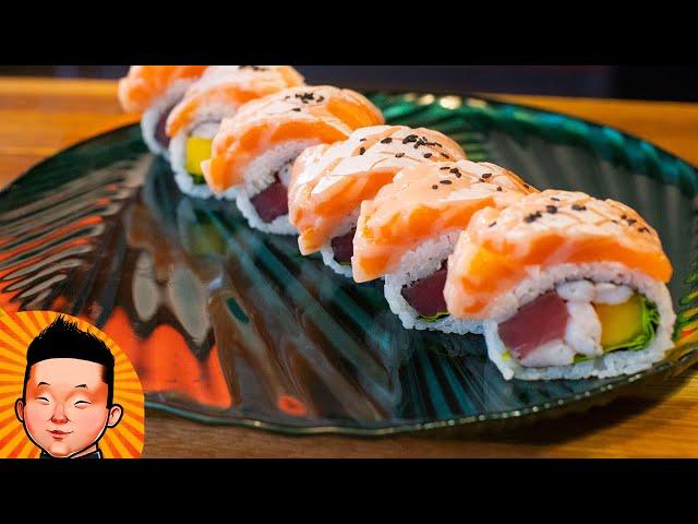 Ролл с животика лосося | Big Salmon Roll