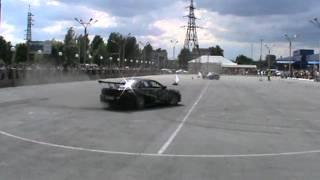 Дрифт, Карина ЕД и Ниссан Сильвия. Автоспорт гонки Барнаул, БЦВВМ