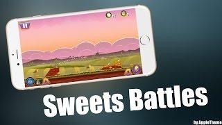 Надоели Angry Birds?! Скачай Sweets Battles!
