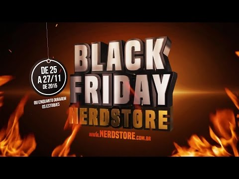 BLACK FRIDAY NA NERDSTORE!!!