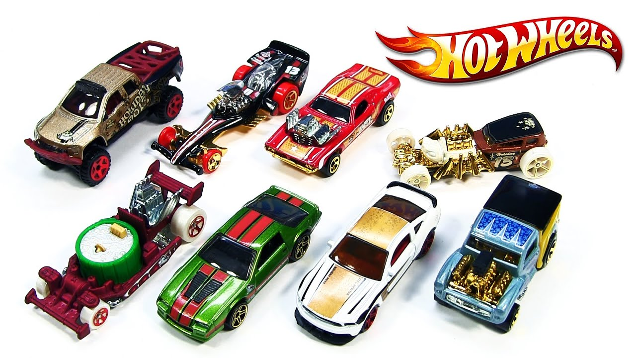 2013 Hot Wheels Holiday Hot Rods Xmas Mattel Die Cast Toy