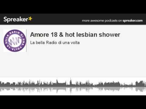 shower Hot lesbian