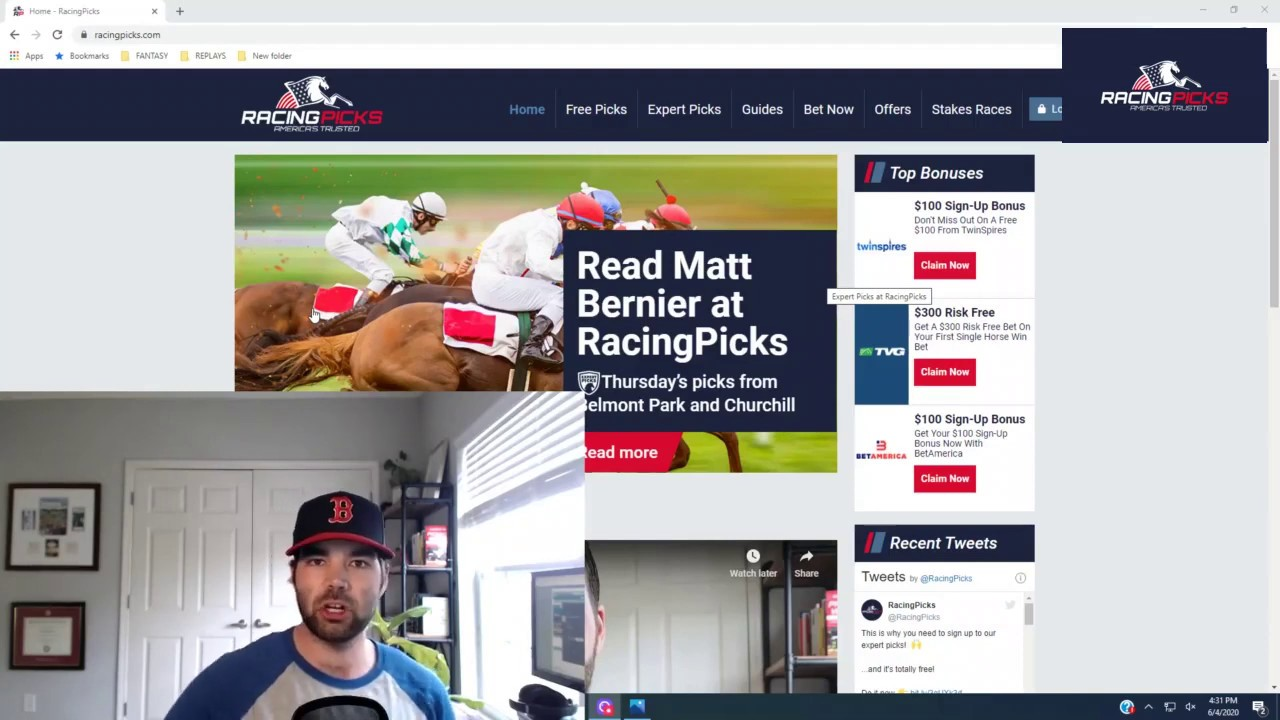 Kentucky Derby Betting Promo: $300 Risk-Free at TVG |