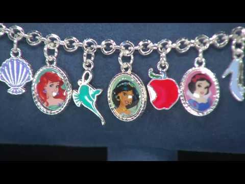 """Disney 6"""" Princess Charm Bracelet with Jacque Gonzales"""
