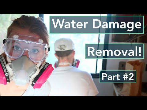 Gutting the RV + Water Damage Removal