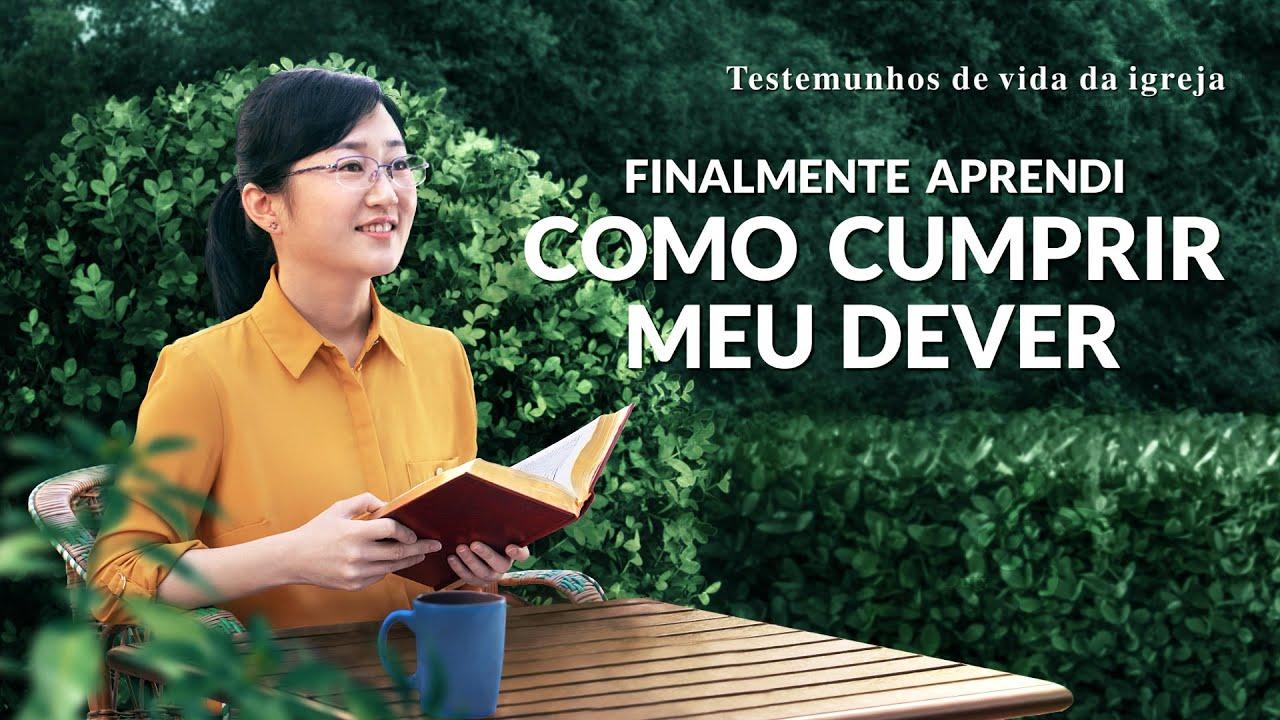 """Testemunho de fé """"Finalmente aprendi como cumprir meu dever"""""""