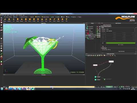 RealFlow 2015 Features: DIRECT TO RENDER