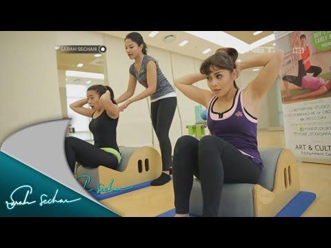 Ayu Hastari dan Terry Puteri Pilates bareng