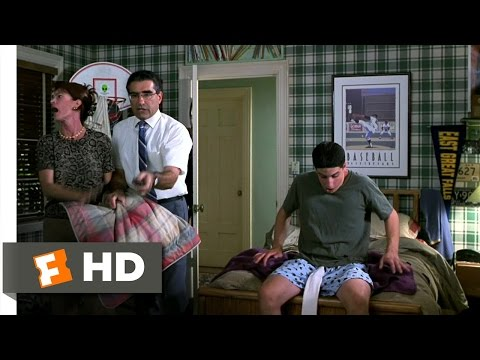 American Pie (1/12) Movie CLIP - Penis Tube Sock (1999) HD poster