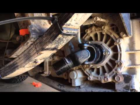 RTV900 Rear Axle Removing Axle Support Bar YouTube