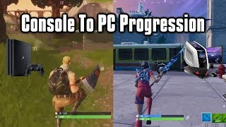 Console To PC Progression In Fortnite - Tips and Tricks To Improve Quickly!