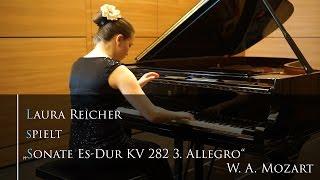 W.A.Mozart Sonate Es-Dur KV 282 3. Allegro