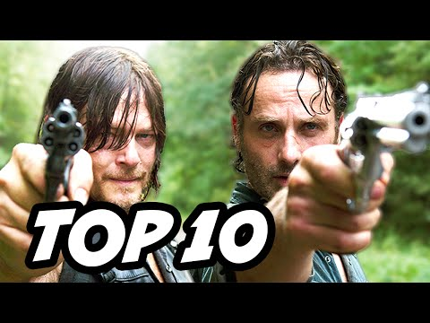 Walking Dead Season 6 Episode 14 - TOP 10 WTF and Easter Eggs