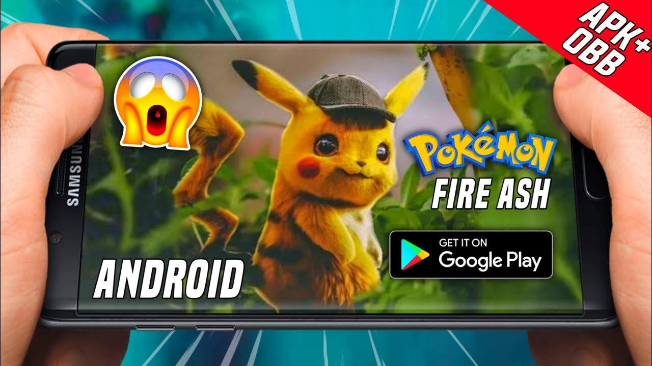 pokemon fire ash apk download for android