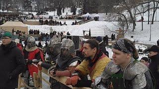 Масленица и Рыцарские Бои, Спивоче Поле, Киев, Украина