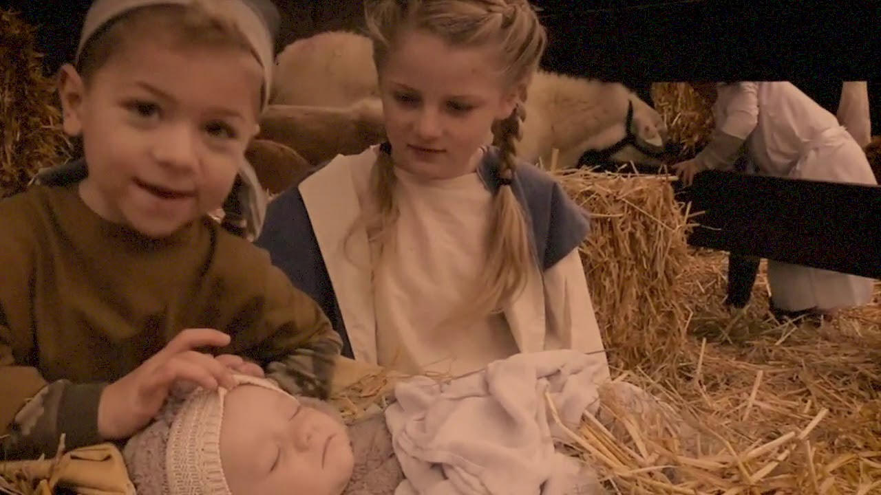 Advent 4C Nativity Christmas Mary Did You Know (Kathy Mattea) - YouTube