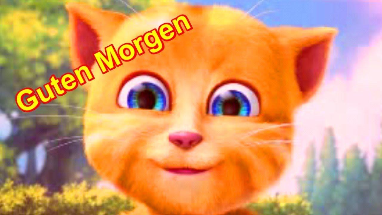 Guten Morgen Schönen Tag Ob Montag Dienstag Donnerstag Freitag Samstag Free App Talking Ginger