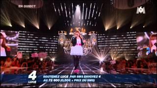 """Luce à Nouvelle Star - """"La plus belle pour aller danser"""" de Sylvie Vartan (cover)"""