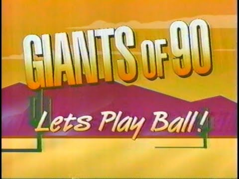 1990 MLB Preview:  Giants of '90: Let's Play Ball, from KTVU, Spring 1990
